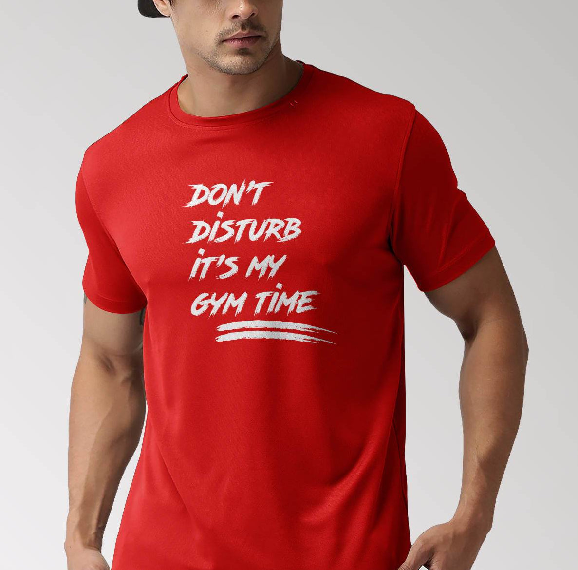 Don't Diturb its Gym Time T-Shirt ©