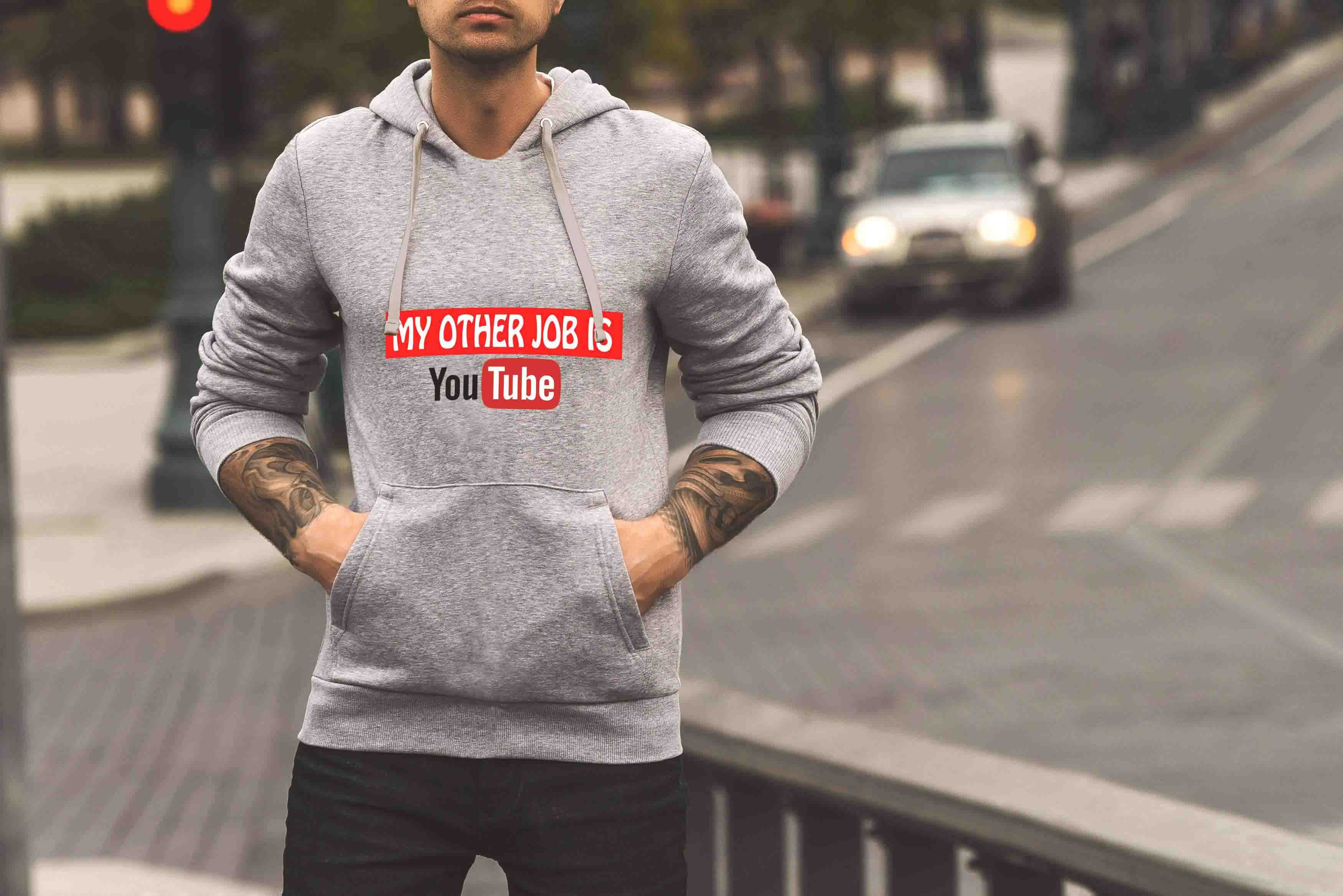 MY OTHER JOB IS YOUTUBE - Hoodie ©