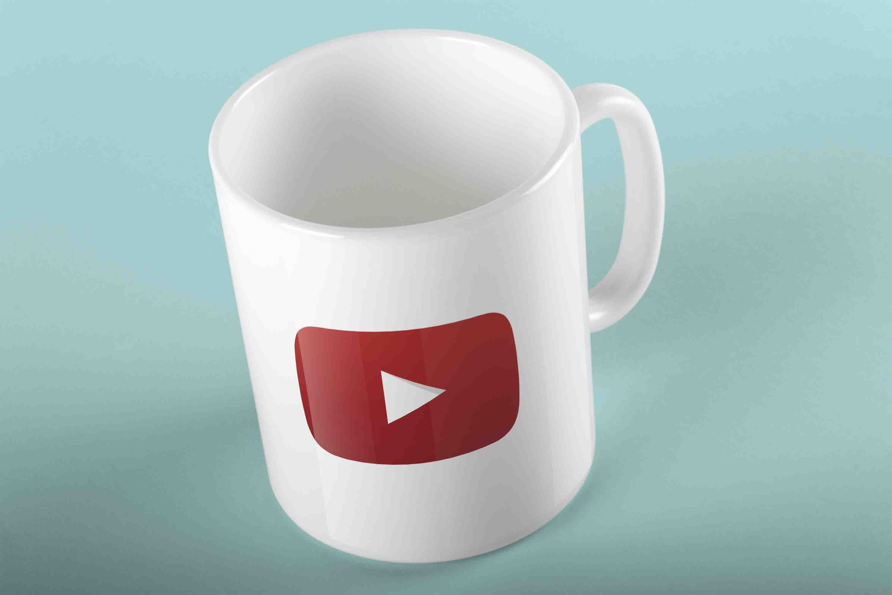 YOUTUBE LOGO MUG