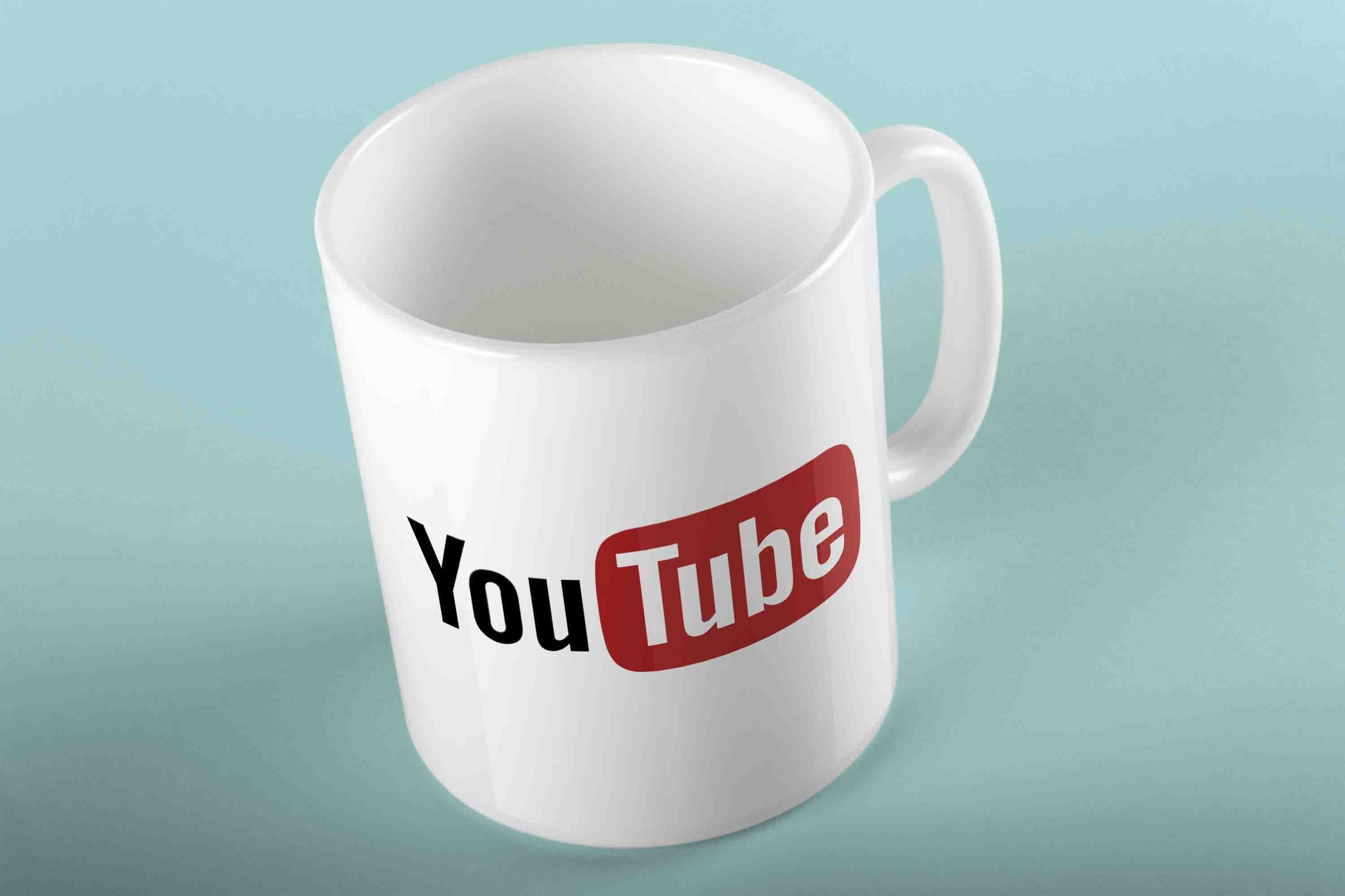 YOUTUBE COFFEE MUG - FOR CREATORS
