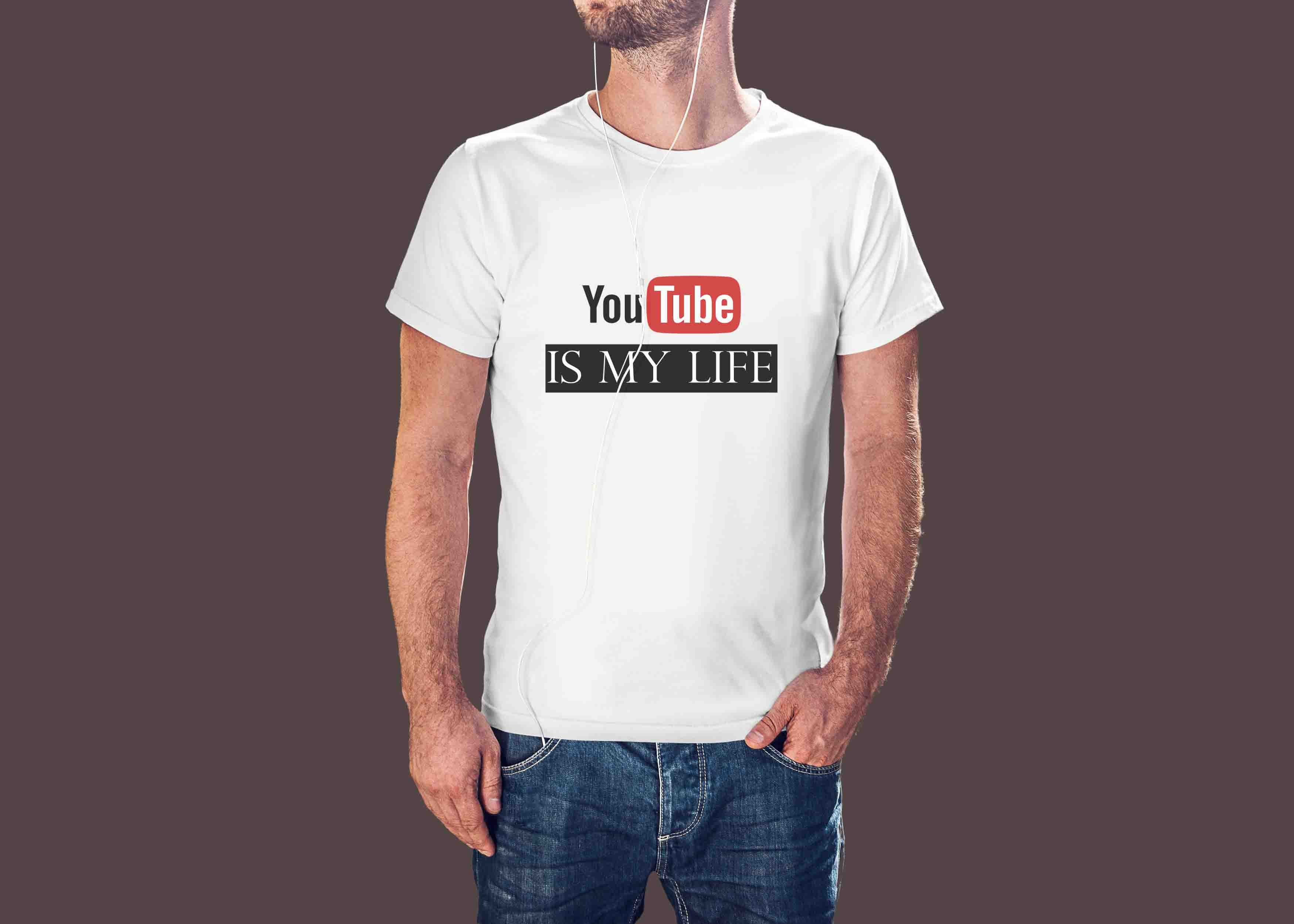T-SHIRT - YOUTUBE IS MY LIFE ©