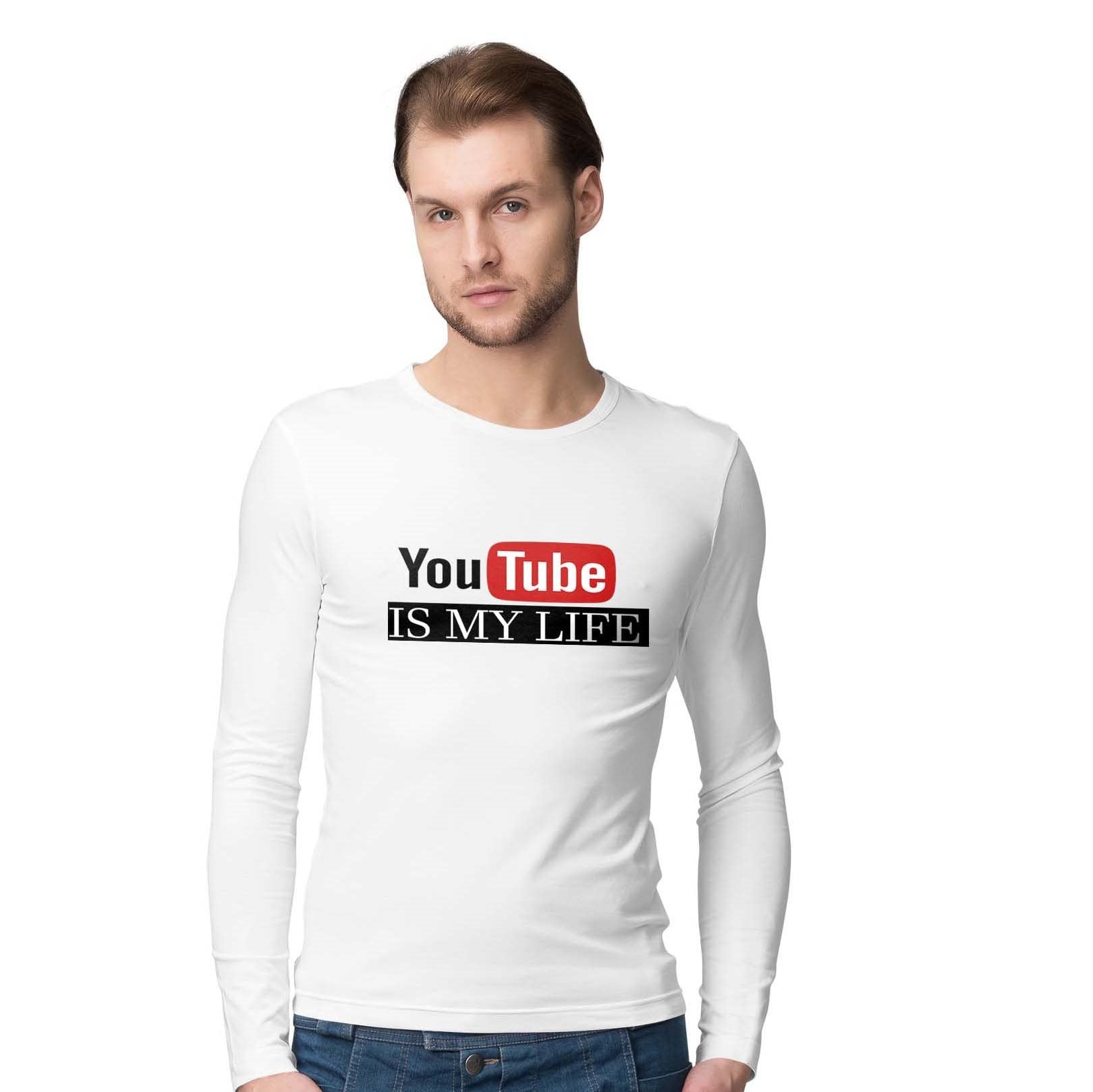 YOUTUBE IS MY LIFE - FULL SLEEVE © - Passion Swap