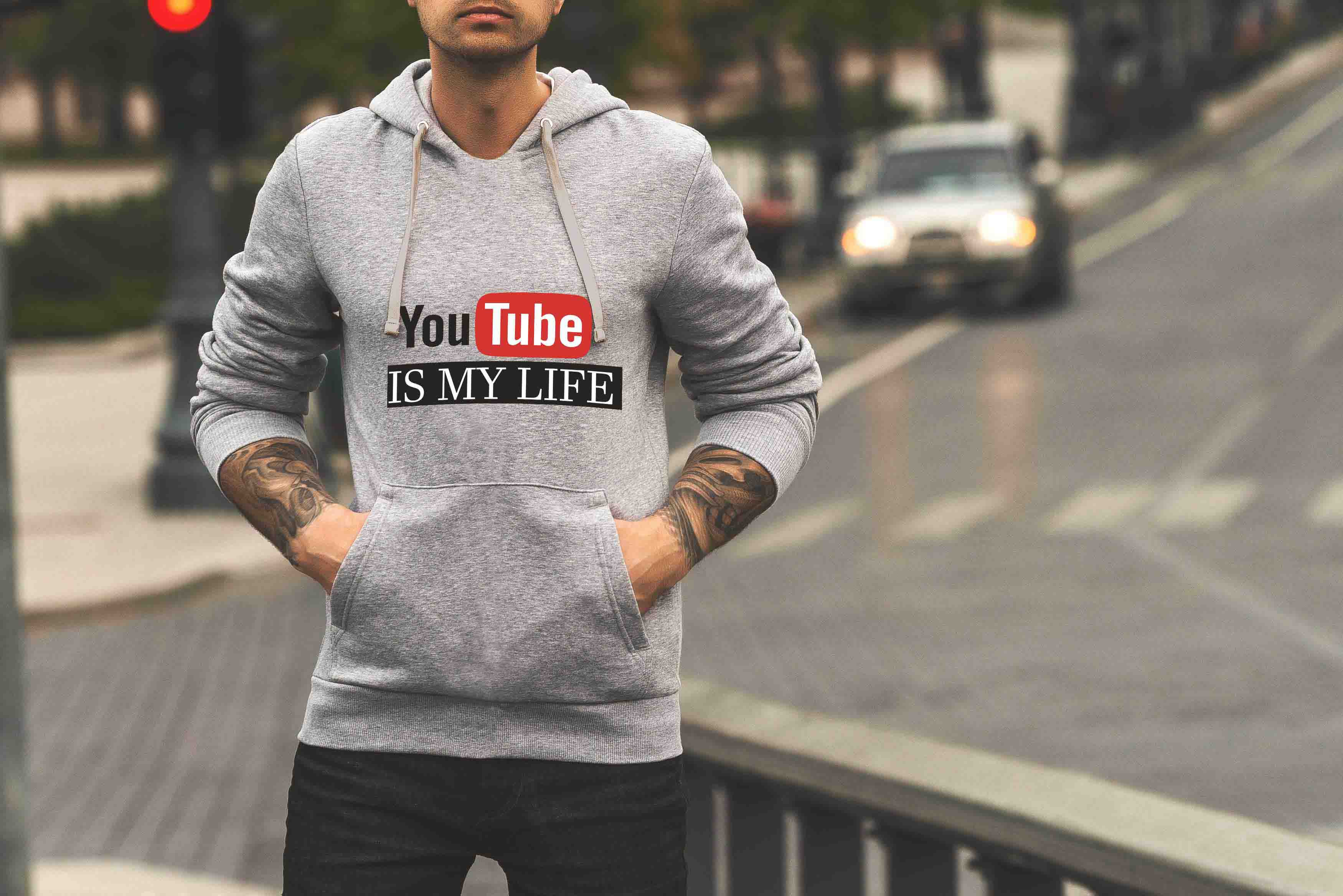 YOUTUBE IS MY LIFE - HOODIE © - Passion Swap