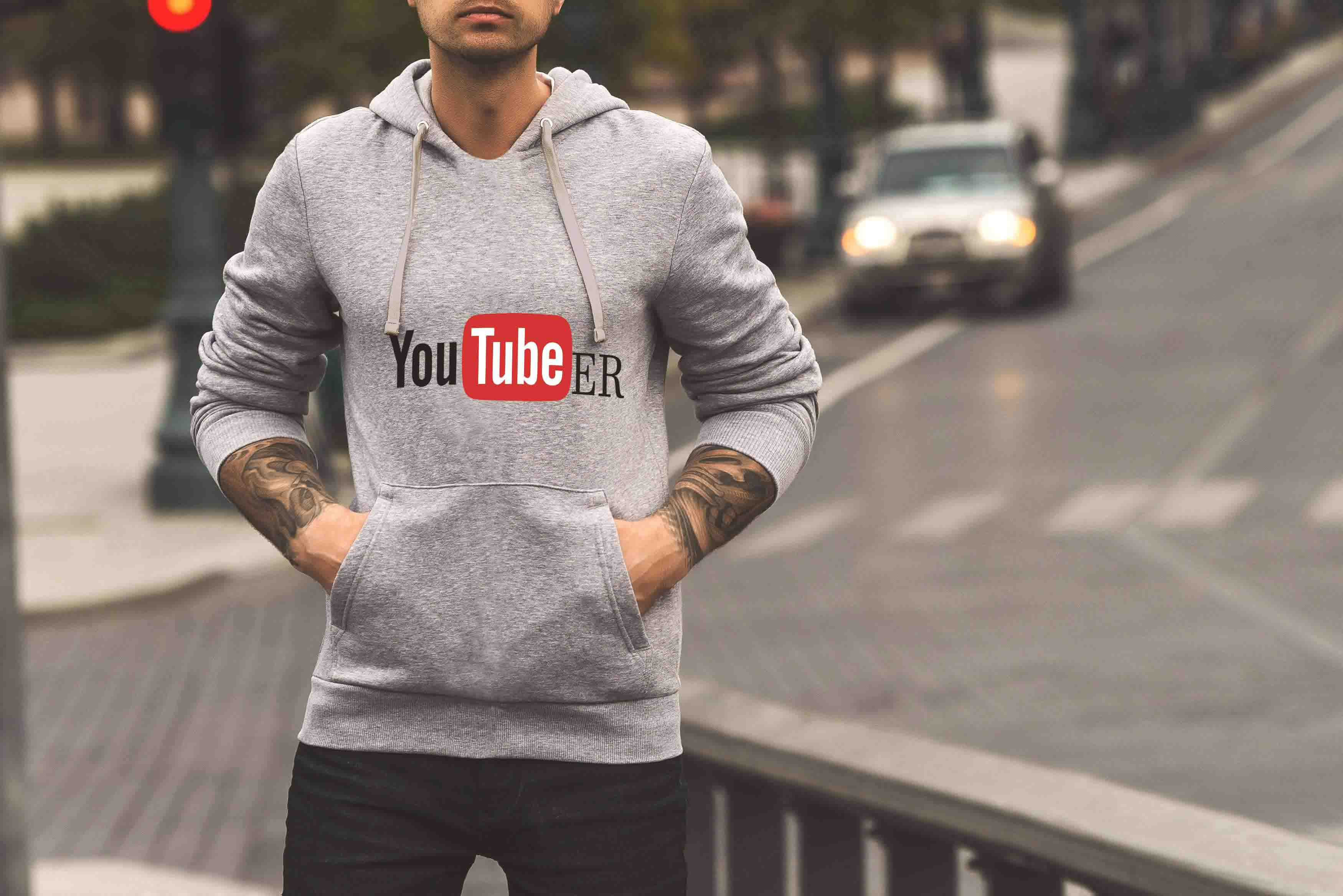 YOUTUBER - HOODIE  © - Passion Swap