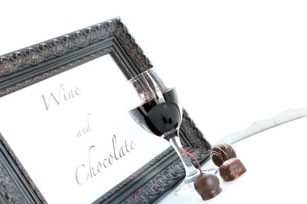 A Chocolate and Wine Tasting The Cordial Cherry chocolate covered cherries Christmas corporate client best gift box delivery