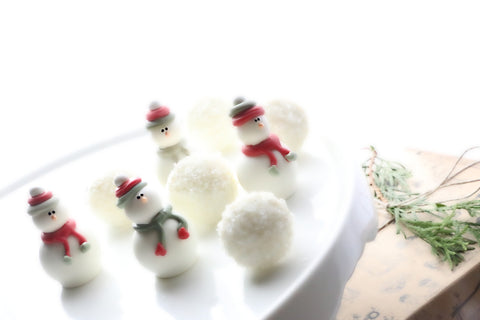 Chocolate Christmas Snowman Truffles