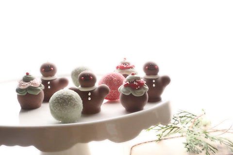 Chocolate Gingerbread Men Truffles