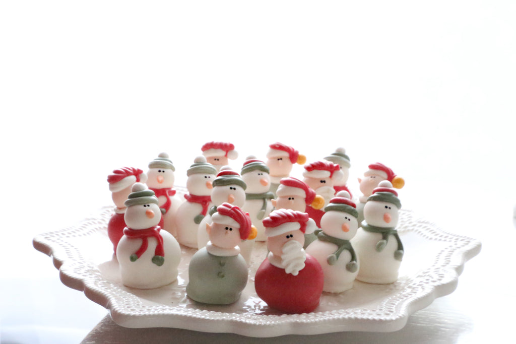 Santas, Elves, and Snowmen Cordial Cherries