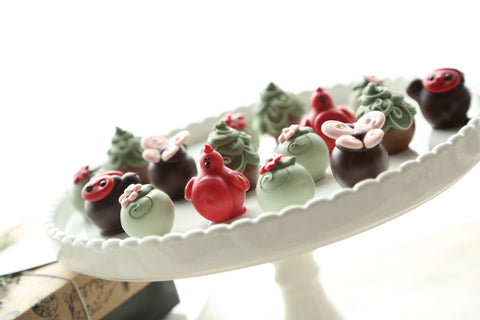Chocolate Truffles ~ 16-Piece Gift ~ Love Garden