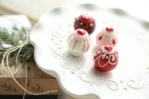 Chocolate Truffles ~ Valentine Hearts