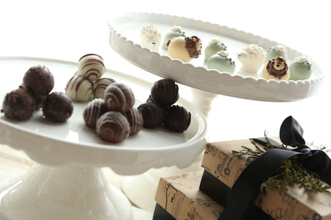 Chocolate Truffles ~ 2-Tier Gift Tower ~ The Lion and the Lamb