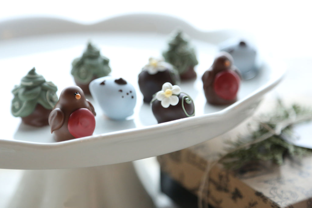 Cordial Cherries ~ 9-Piece Gift ~Robins and Eggs
