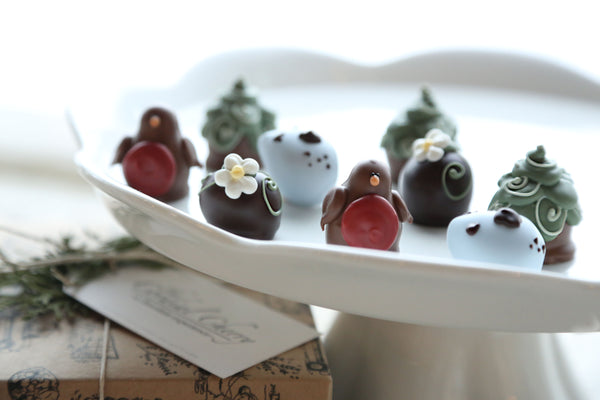 Chocolate Truffles ~ 9-Piece Gift ~Robins and Eggs