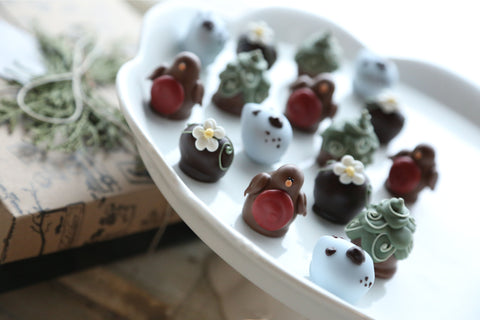 Chocolate Truffles ~ 16-Piece Gift ~Robins and Eggs