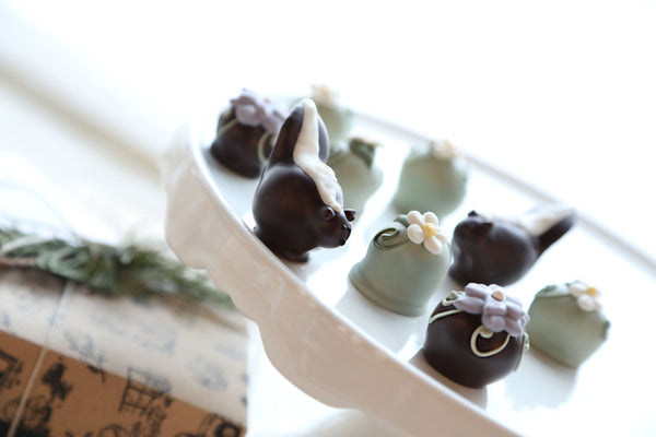 Chocolate Truffles ~ 9-Piece Gift ~ You Can Call Me Flower