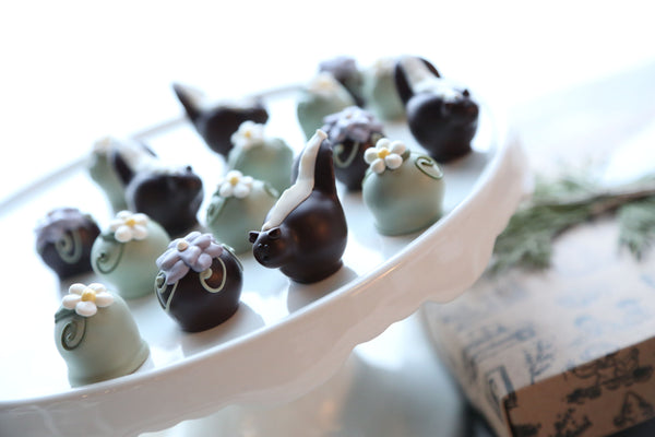 Chocolate Truffles ~ 16-Piece Gift ~ You Can Call Me Flower