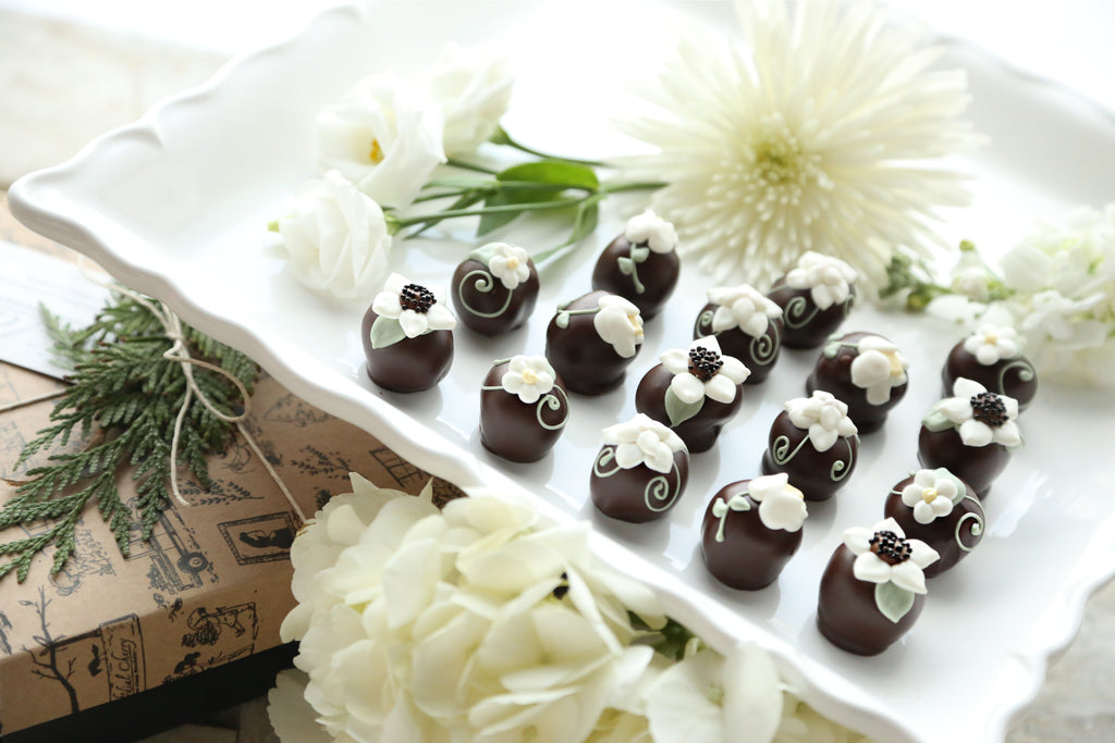 Chocolate Truffles ~ 16-Piece Gift ~ Mother's Garden