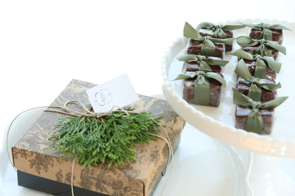 Chocolate Walnut Satin Fudge Gift