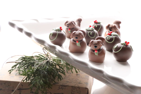 Combo ~ Christmas Puppies ~ 9-Piece