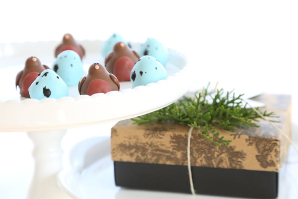 Robins and Eggs Cordial Cherries Gift