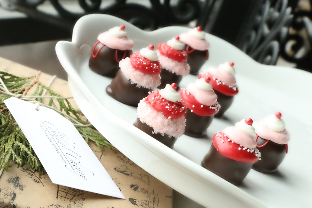Chocolate Truffles ~ 9-Piece Gift ~ Valentine's Day Cupcakes