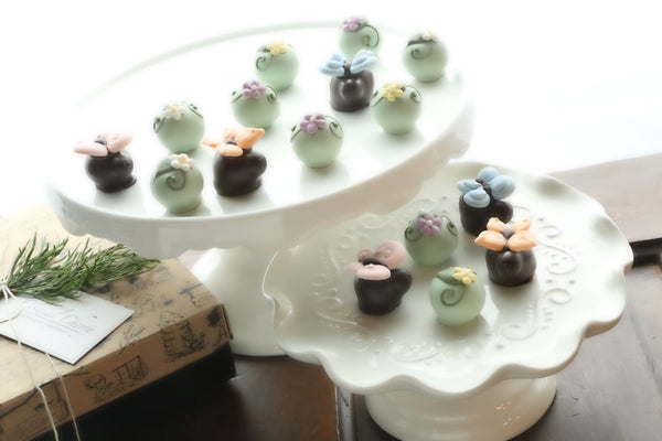 Chocolate Truffles ~ 16 Piece Gift ~ Butterflies and Blossoms