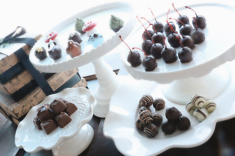 Chocolate Truffles ~ 4 Tier Gift Tower ~ Summer Woodland