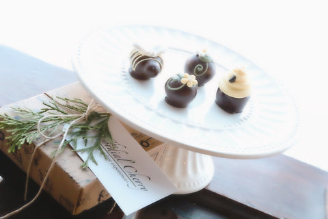 Chocolate Truffles ~ 4 Piece Gift ~ It's the Bee's Knees