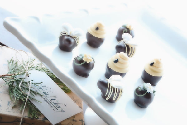 Chocolate Truffles ~ 9 Piece Gift ~ It's the Bee's Knees