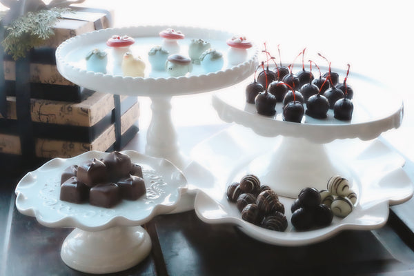 Chocolate Truffles ~ 4 Tier Gift Tower ~ Al's Sweet Little Pond