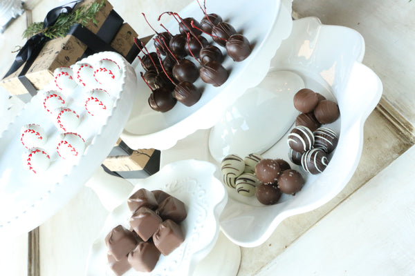 Chocolate Truffles ~ 4-Tier Gift Tower ~ Baseballs