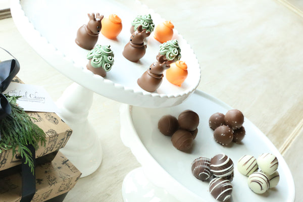 Chocolate Truffles ~ 2-Tier Gift Tower ~ Hunting
