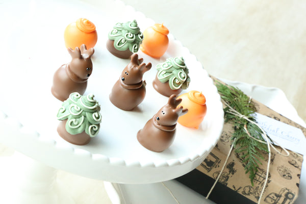 Chocolate Truffles ~ 9 Piece Gift ~ Hunting
