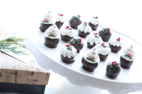 Cordial Cherries ~ 16-Piece Gift ~ Christmas Cakes