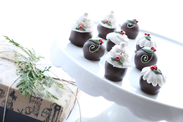 Cordial Cherries ~ 9-Piece Gift ~ Christmas Cakes