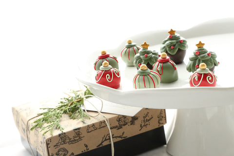 Cordial Cherries ~ 9-Piece Gift ~ Christmas Trees and Ornaments