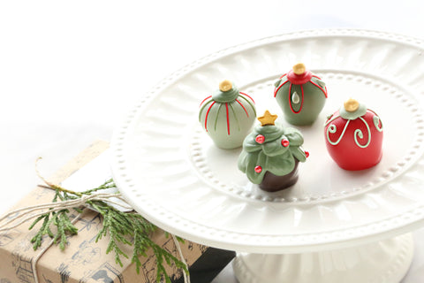 Christmas Trees and Ornaments ~ Cordial Cherries