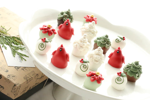 Cordial Cherries ~ 16-Piece Gift ~ Christmas Garden