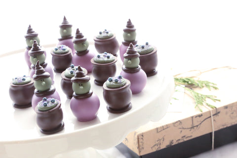 Chocolate Truffles ~ 16-Piece Gift ~ Witches and Brew