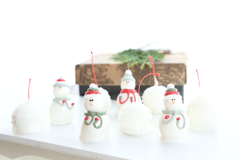 Cordial Cherries ~ 9-Piece Gift ~ Snowmen and Snowballs