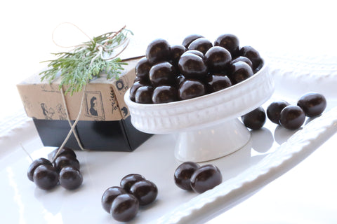 Dark Chocolate Covered Hazelnuts