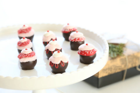 9-Piece Valentine's Day Cupcake Cordial Cherries