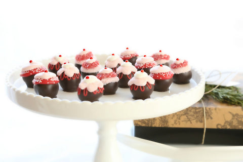 16-Piece Valentine's Day Cupcake Cordial Cherries