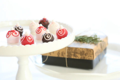 9-Piece Valentine's Day Swirls Cordial Cherries