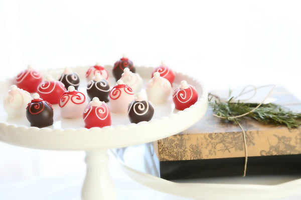 16-Piece Valentine's Day Swirls Cordial Cherries