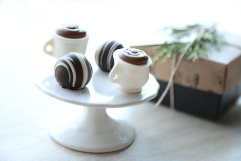 Coffee Cups ~ Chocolate Truffles