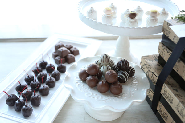 Chocolate Truffles ~ 4-Tier Gift ~ Angels in Action