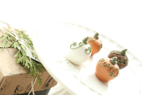 Harvest Pumpkins ~ Chocolate Truffles