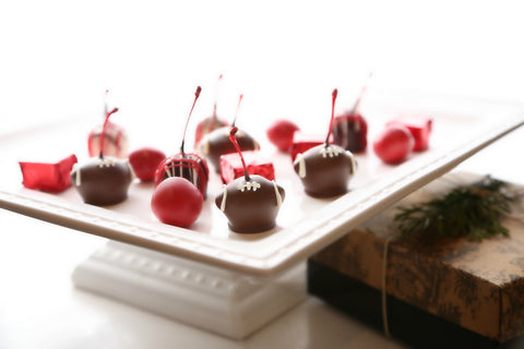 16-Piece Nebraska Football Cordial Cherries anf Chocolates