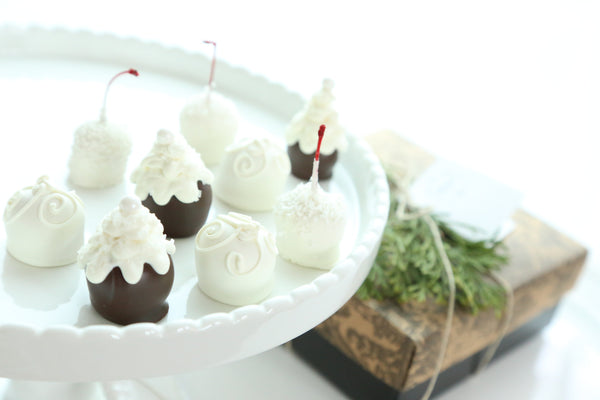 Winter Wonderland Cordial Cherries Gift